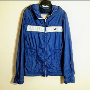 Hollister windbreaker
